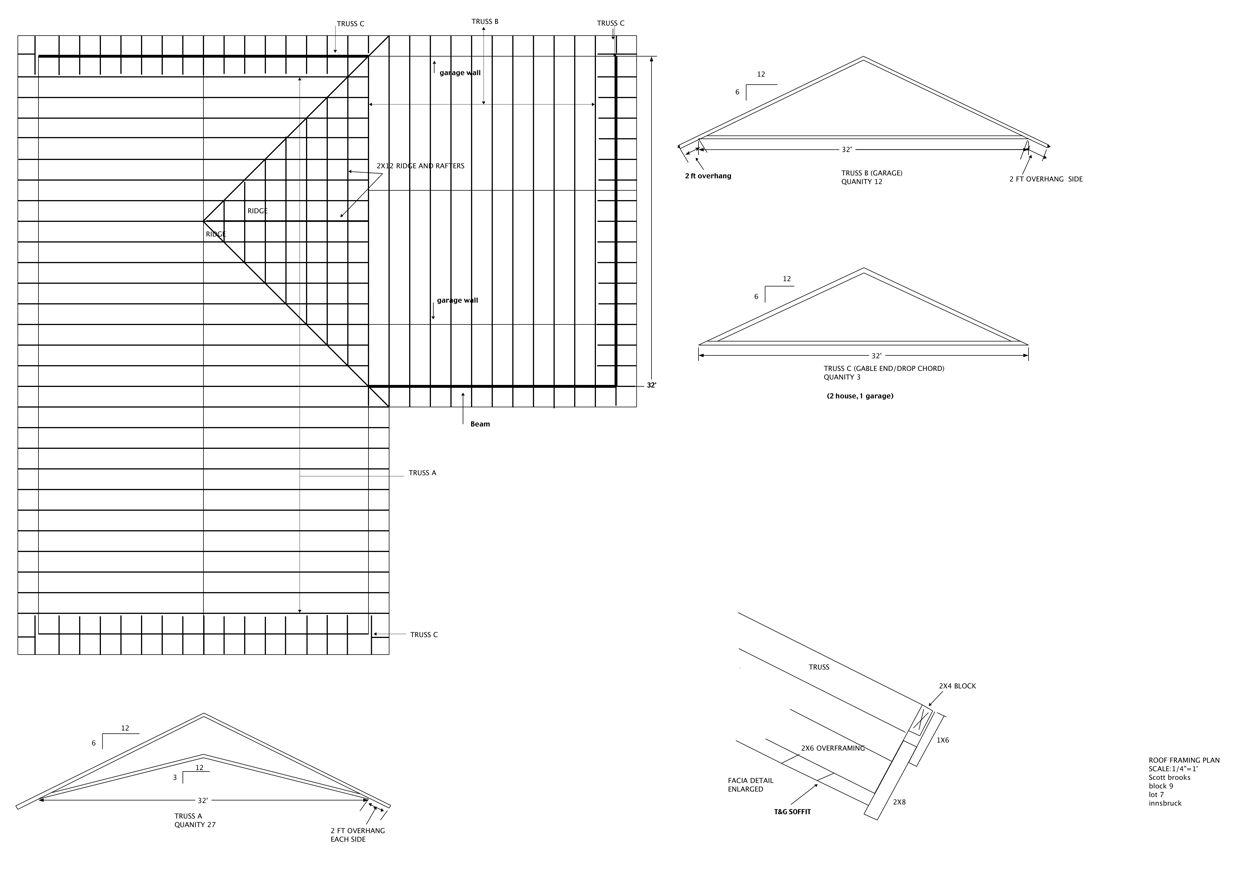 How To Draw Roof